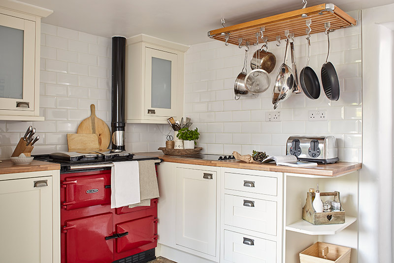 Luxury Kitchen with Rayburn Cooker